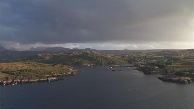 Flight Across Badachro Harbour To Inn