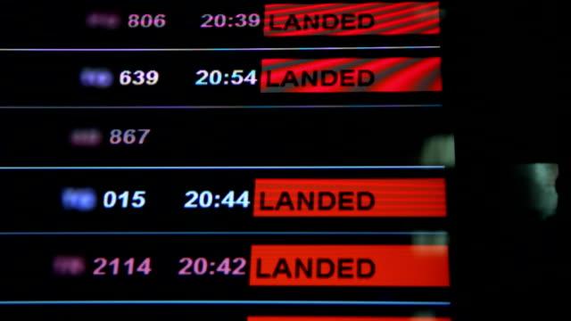 Flight delayed.