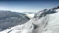Flight in the Alps