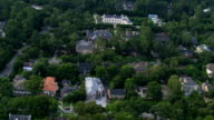 Flight over River Oaks, Houston's wealthy residential area. Shot in 2007.