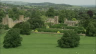 Flight Over Sudeley Castle