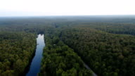 A Flight over the Muskoka River