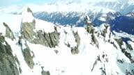 flight through mountains
