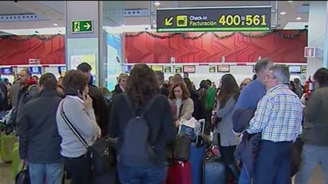 Flights to from Spain are expected to return to normal from this morning following yesterday's widespread disruption which led to thousands of...