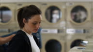 flirting at laundromat