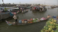 WS HA PAN Floating market and village, Vietnam