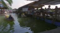 MS, Floating market of Taling Chan District, Bangkok, Thailand