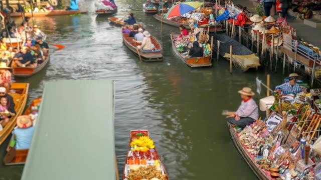 Floating Market (Timelapse).