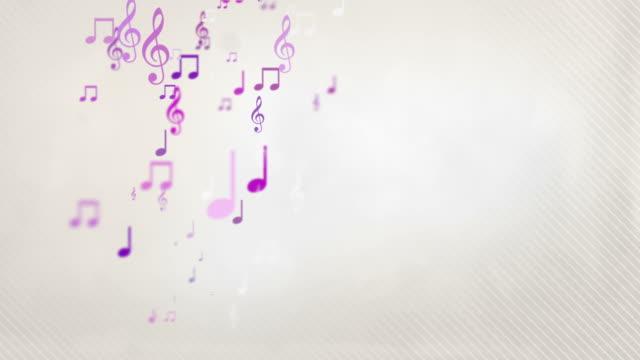 Mobile note musicali-rosa (Full HD