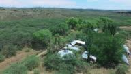 Flood Damage over village community in Utopian Desert City