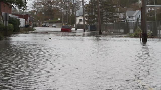 Molta strada dopo uragano Sandy