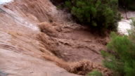 Flooding caused by the Arizona monsoon