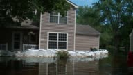 WGN Flooding in Cary Illinois on July 25 after weeks of flooding in near Fox River