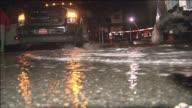Flooding In Lower Manhattan After Hurricane Sandy on November 15 2012 in Manhattan New York