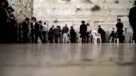 Floor POV of the Wailing Wall