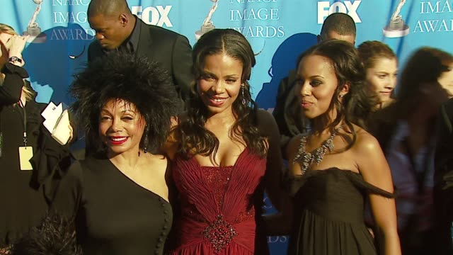Florence LaRue Sanaa Lathan and Kerry Washington at the 38th NAACP Image Awards at the Shrine Auditorium in Los Angeles California on March 2 2007