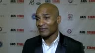 Florent Malouda on the event and also the latest terror attack in Manchester at Carlton Hotel on May 24 2017 in Cannes France