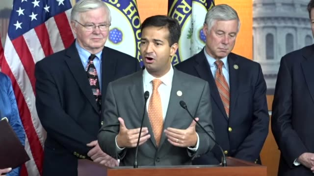 Florida Congressman Carlos Curbelo speaks a press conference with House Republicans pushing for legislation to extend the deferred action for...