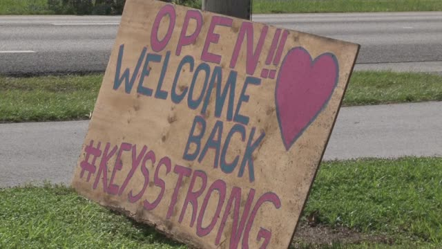 Florida Keys residents say they feel a strong sense of community and see a fast recovery as restaurants reopen and cleanup crews remove debris caused...