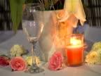 Flowers at restaurant  (Video - 16:9)