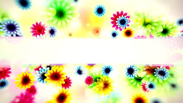 Blumen Hintergrund loop