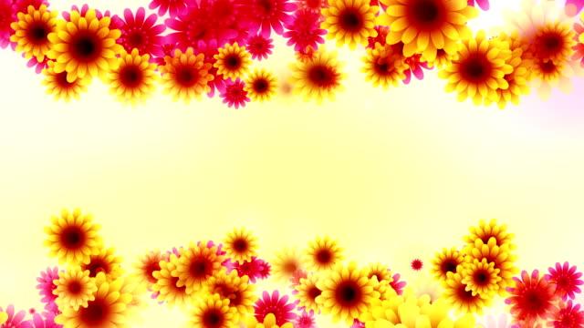 Flowers background loop
