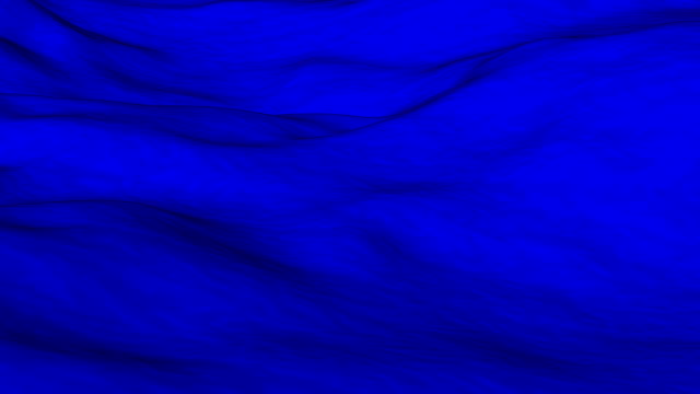 Flowing blue cloth background