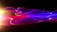 Fließende Licht Streifen Hintergrund Loop-tropischen Pink (Full HD