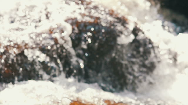 Flowing Stream Slow Motion