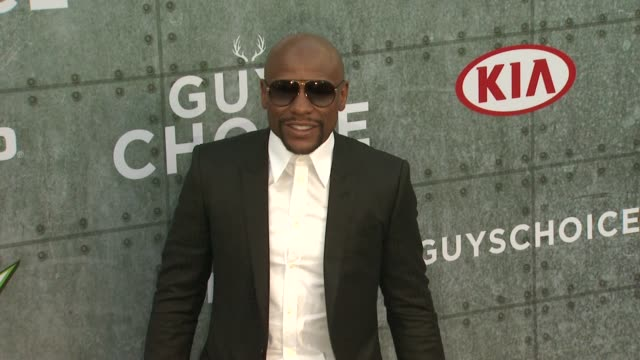 Floyd Mayweather Jr at Spike TV's 'Guys Choice 2015' at Sony Pictures Studios on June 06 2015 in Culver City California