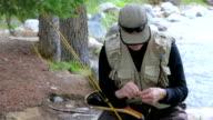 Fly Fisherman Ties Lure