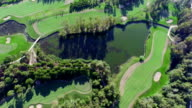 Fly Over Golf Course