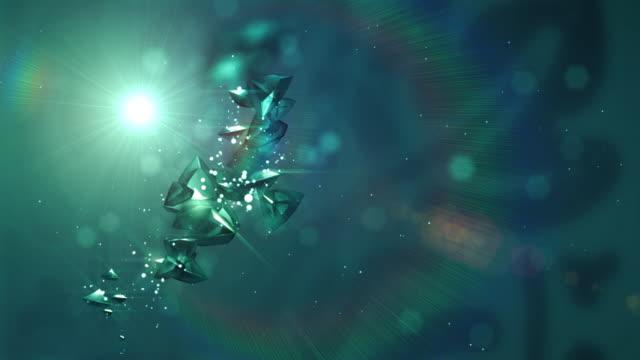 Flying diamonds