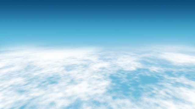 Flying Over Clouds Loopable