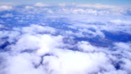 Flying over clouds