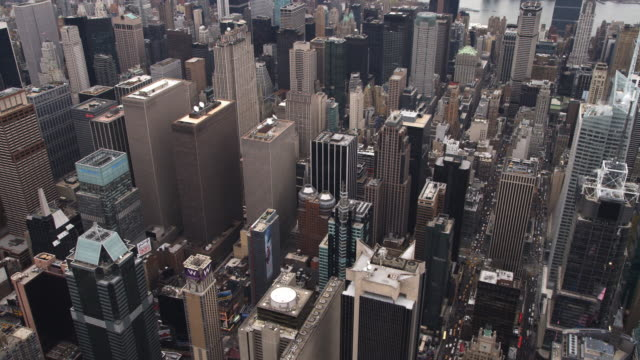Flying over Midtown Manhattan. Shot in 2011.