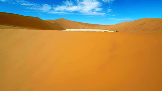 HELI Flying Over The Dead Vlei