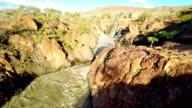 HELI Flying Over The Epupa Falls