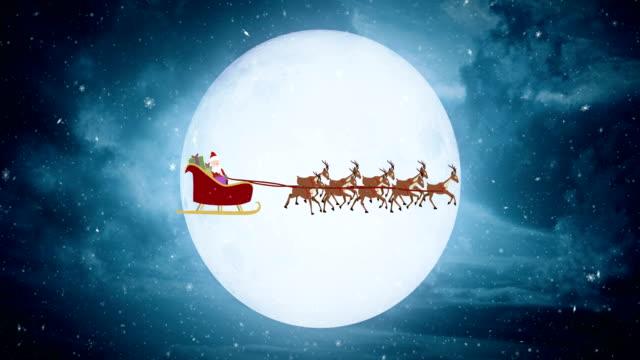Vliegende Santa Claus