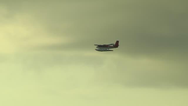 Flying sea plane Male Maldives