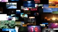 Fliegen durch Videos Matrix