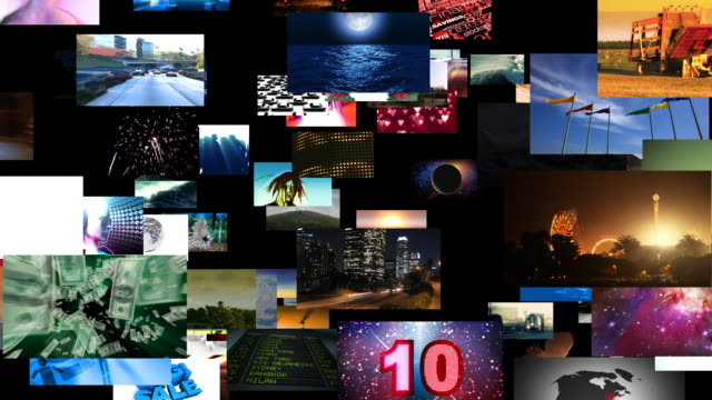 Flying Through Videos Matrix