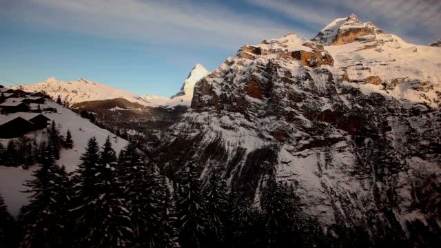 flying den Berg Jungfrau