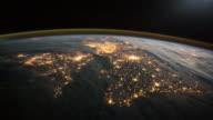 Überführung Frankreich, England und Nordirland. Blick vom Platz.