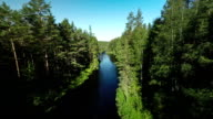 Flyover River in Borealer Wald