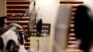Focus Shift of microphone in music studio