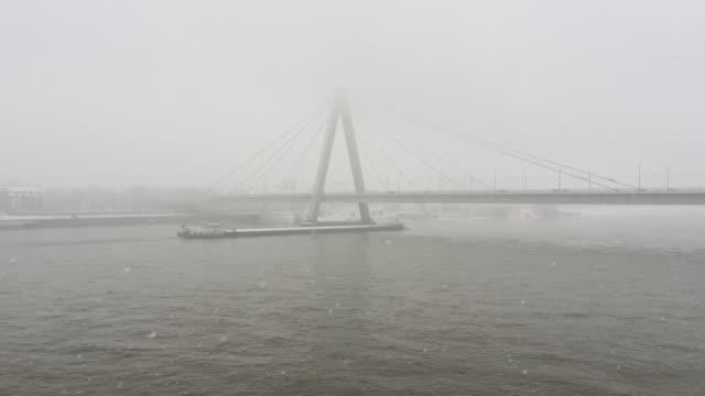 Fog in Cologne city