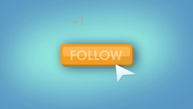 Follow button animation loop