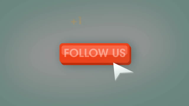 Follow us button animation loop