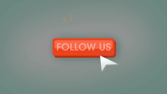Follow us button animation loop